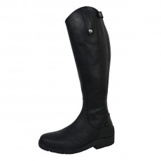 Mark Todd (Clearance) Adults Fleece Lined Tall Winter Boot (Black)