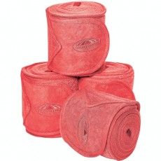 Weatherbeeta Fleece Bandage 4 Pack (Paradise Pink)