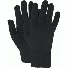 Dublin Adults Pimple Grip Polar Fleece Riding Gloves (Black)