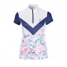 Dublin Ladies Orla Printed Colour Block Competition Shirt (Geo Print)