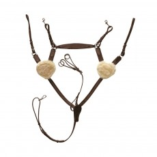 Mark Todd (Clearance) Deluxe 5-Point Breastplate (Havana)