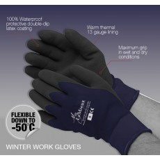 LeMieux Winter Work Gloves (Navy)