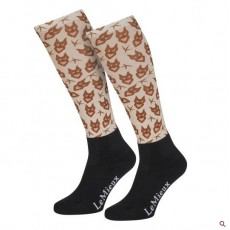 LeMieux Adults Footsie Sock (Owls)