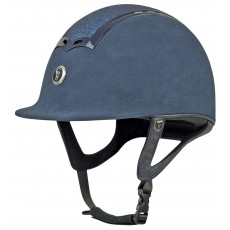 Gatehouse Ciana Riding Hat (Suede Navy/Glitter)