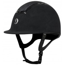 Gatehouse Ciana Riding Hat (Suede Black/Glitter)