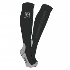 Mark Todd Competition Socks (Black/Grey)