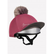 LeMieux Pom Hat Silk (French Rose)