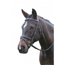 Kincade Flash Bridle (Black)