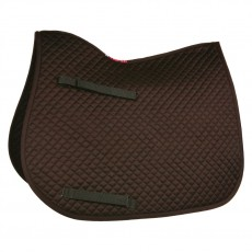 HyWITHER Competition All Purpose Saddle Pad (Brown)