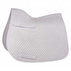 HyWITHER Competition All Purpose Saddle Pad (White)