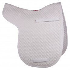 HyWITHER Competition Dressage Numnah (White)