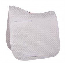 HyWITHER Competition Dressage Saddle Pad (White)