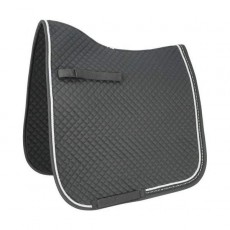 HyWITHER Diamond Touch Dressage Saddle Pad (Ombre Grey)