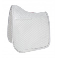 HyWITHER Diamond Touch Dressage Saddle Pad (White)