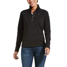 Ariat Women's Conquest 2.0 1/2 Zip Sweatshirt (Black)