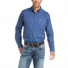 Ariat Men's Danny Fitted Shirt (Old Bay)