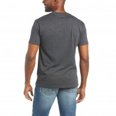 Ariat Men's Traditional T-Shirt (Charcoal)