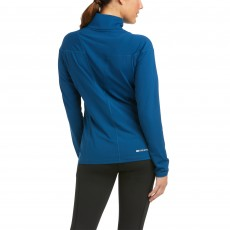 Ariat Women's Auburn 1/4 Zip Base Layer (Blue Opal)