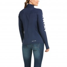 Ariat Women's Auburn 1/4 Zip Base Layer (Team Navy)