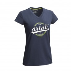 Ariat Women's Authentic Logo T-Shirt (Navy)