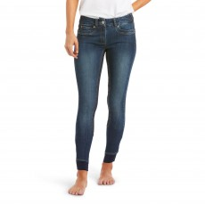 Ariat Women's Halo Denim Full Seat Breech (Wash)