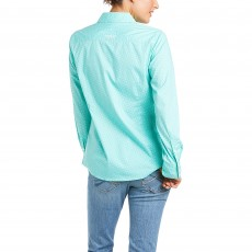 Ariat Women's Kirby Long Sleeve Shirt (Waterfall)