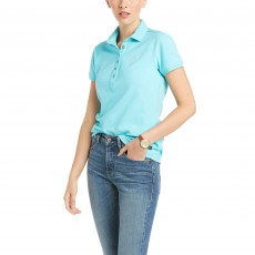 Ariat Women's Prix Polo 2.0 (Cool Blue)