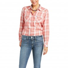 Ariat Women's R.E.A.L Charming Snap Long Sleeve Shirt (Multi)
