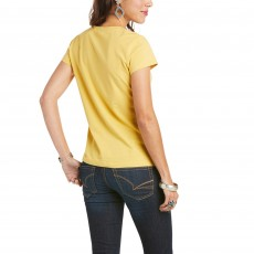 Ariat Women's R.E.A.L Sundown T-Shirt (Local Honey)