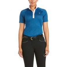 Ariat Women's Showstopper 3.0 Show Shirt (Blue Opal)