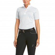 Ariat Women's Showstopper 3.0 Show Shirt (Pearl Grey)