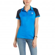 Ariat Women's Team 3.0 Polo (Imperial Blue)