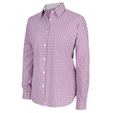 Hoggs of Fife Ladies Becky II Cotton Shirt (Violet/Cerise)