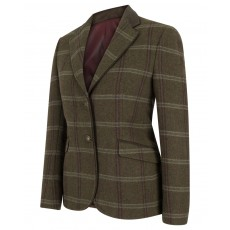 Hoggs of Fife Ladies Musselburgh Tweed Hacking Jacket (Bracken Tweed)