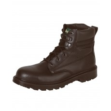 Hoggs of Fife Men's Classic L5 Lace-up Boots (Dark Brown)