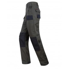 Hoggs of Fife Men's Granite Active Ripstop Unlined Trousers (Charcoal/Black)