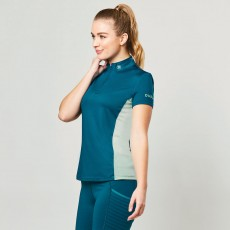 Dublin Ladies Airflow Cdt Short Sleeve Tech Top (Blue Lagoon)