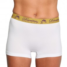 Derriere Equestrian Women's Performance Seamless Shorty (White)