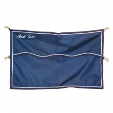 Mark Todd Square Nylon Stall Guard (Navy)
