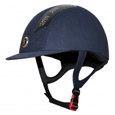 Gatehouse Chelsea Air Flow Pro Riding Hat (Suedette Navy)