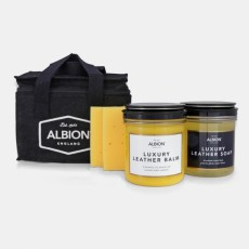 Albion Leather Cleaning Kit (Includes Sponges)