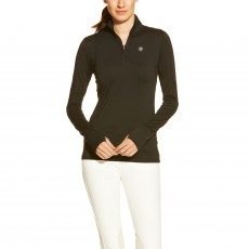 Ariat Women's Lowell Quarter Zip (Black)