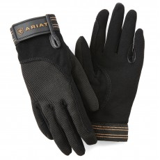 Ariat Adults Tek Grip Gloves (Black)