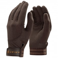 Ariat Adults Tek Grip Gloves (Bark)