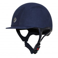 Gatehouse Challenger Riding Hat Suede (Navy)