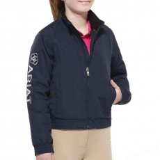 Ariat Kid's Team Stable Jacket (Navy)