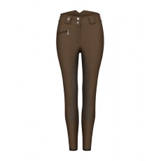 Cavallo Ladies Chagall Pro Grip Breeches (Dark Mustang/Espresso)