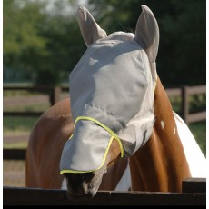 Equilibrium Field Relief Fly Mask Max (Grey/Yellow)