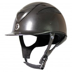 Gatehouse Conquest MKII Riding Hat (Metallic Black)