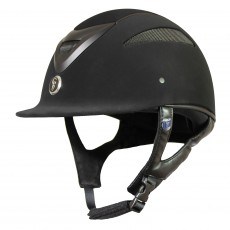 Gatehouse Conquest MKII Riding Hat (Suedette Black)